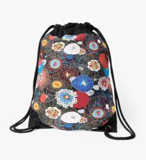 Abstract fantasy pattern Drawstring Bag