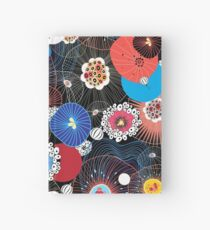 Abstract fantasy pattern Hardcover Journal