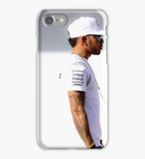 Lewis Hamilton Mercedes Formula 1 iPhone Case/Skin