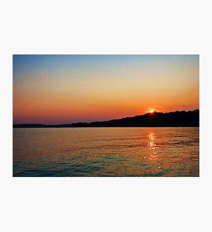 Radiant Sunset Photographic Print