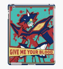 GIVE ME YOUR BLOOD iPad Case/Skin