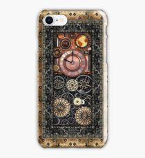 Infernal Steampunk Timepiece #2B Vintage Steampunk phone cases iPhone Case/Skin