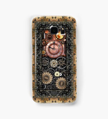 Infernal Steampunk Timepiece #2B Vintage Steampunk phone cases Samsung Galaxy Case/Skin