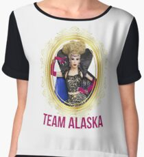Rupaul's Drag Race - Team Alaska Chiffon Top