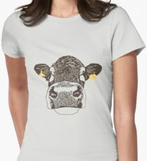 Lady Cow Women's Fitted T-Shirt
