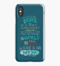 Hillary Clinton Quote - Version 2 iPhone Case