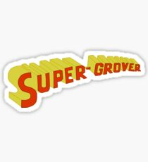 Super Grover Sticker