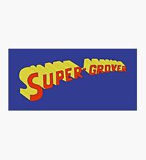 Super Grover Photographic Print