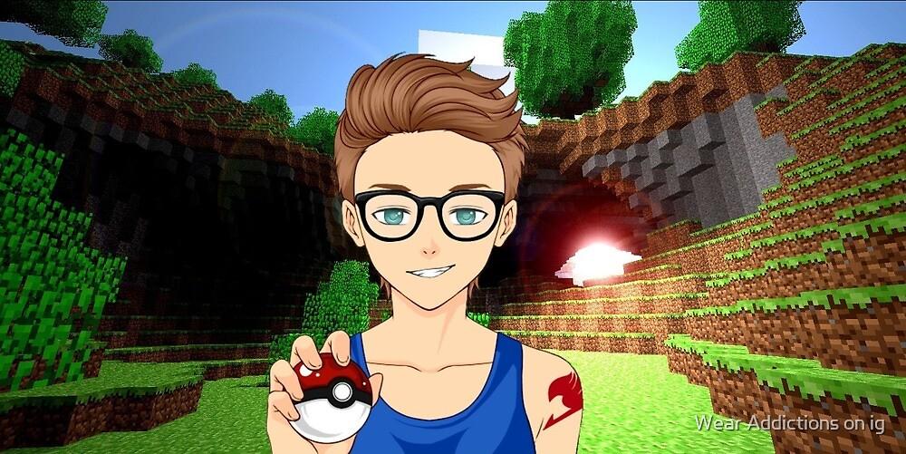 Joey Graceffa Cartel De Fairy Tail Pokemon Y Minecraft De