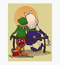 Puppet's love Photographic Print