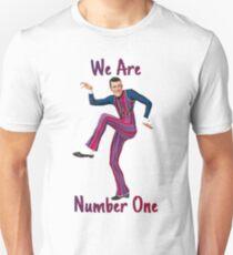 Camiseta unisex Somos el número uno
