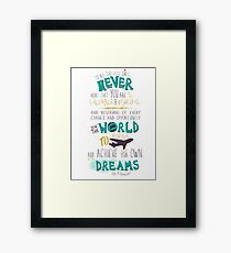 Hillary Clinton Quote Framed Print