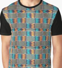 Colours of Africa (10) of a series of African Colours, KENTE Graphic T-Shirt