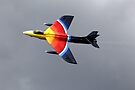 "Hawker Hunter F.58A  ""Miss Demeanour"" by Andrew Harker"