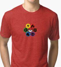 Pokemon Sacred Geometry Tri-blend T-Shirt