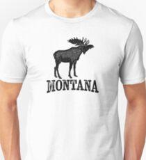 Montana T-shirt - Moose Unisex T-Shirt