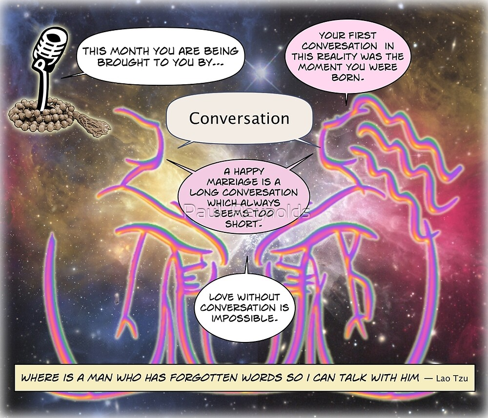 This Month's sponsor - Conversation by Paul  Reynolds