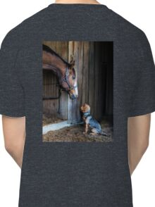 Two Friends- 2015 Dover Saddlery contest winer Classic T-Shirt