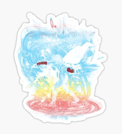 ok storm -rainbow version Sticker
