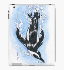 Diving penguin iPad Case/Skin