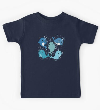 Narwhal Pattern Kids Clothes