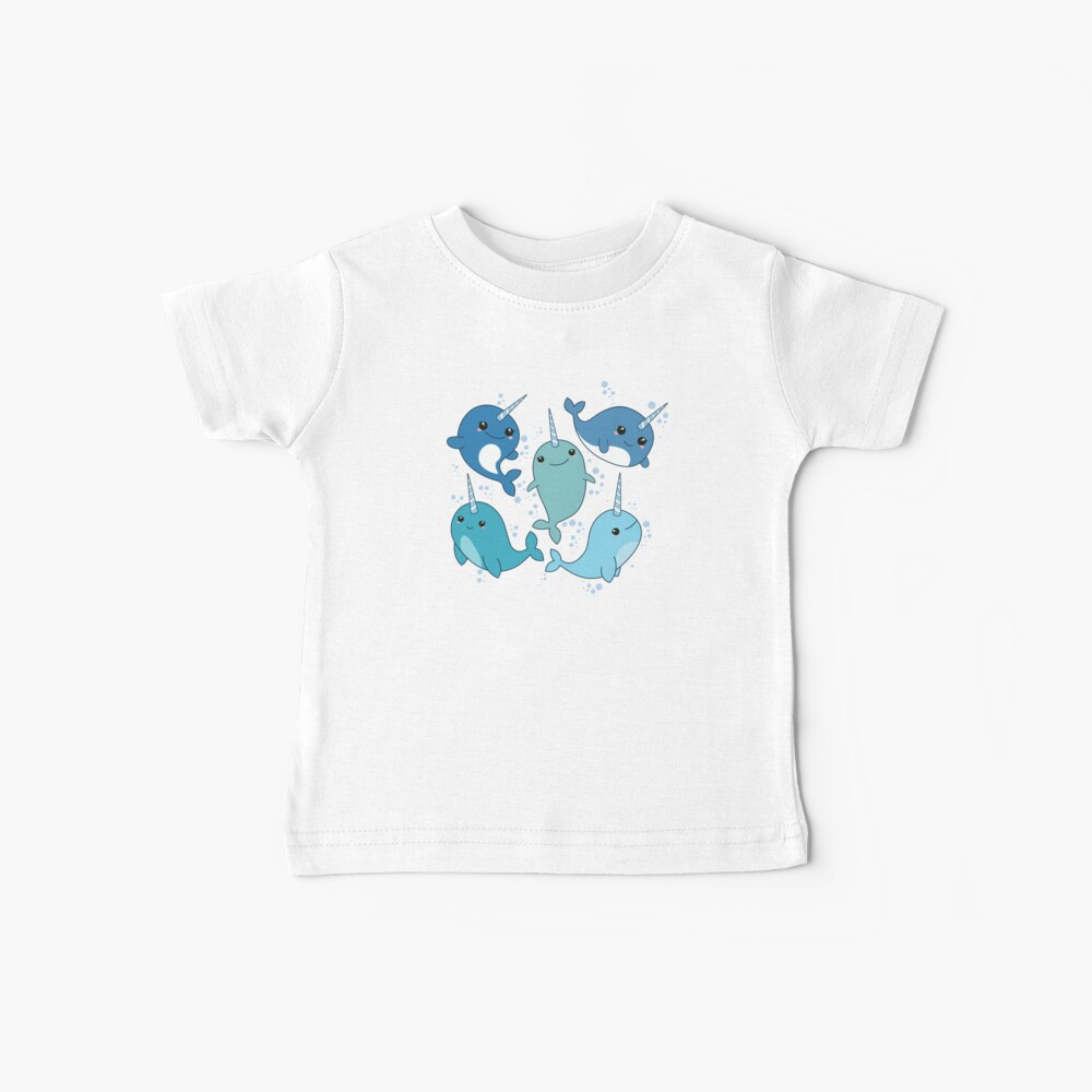 Narwhal Pattern Baby T-Shirt