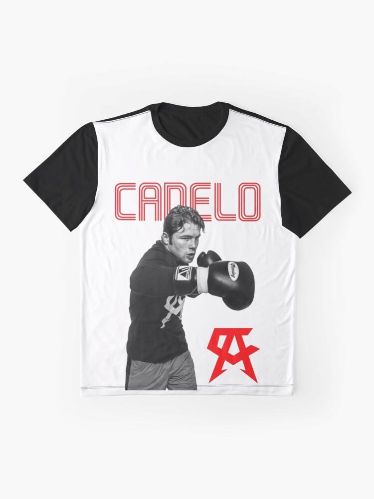 11b47e01 Alternate view of Saul Canelo Alvarez Mexico Boxing T Shirt Graphic T-Shirt