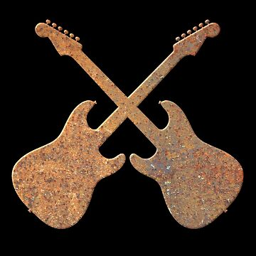 Rusty Electric Guitars by plidner