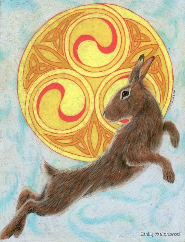 Sun Dancer Rabbit by Emily Weichbrod
