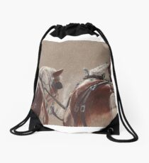 Patience - Belgian Drafts Drawstring Bag