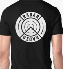 RADAR RADIO BACK PRINT / WHITE - GRIME T-Shirt