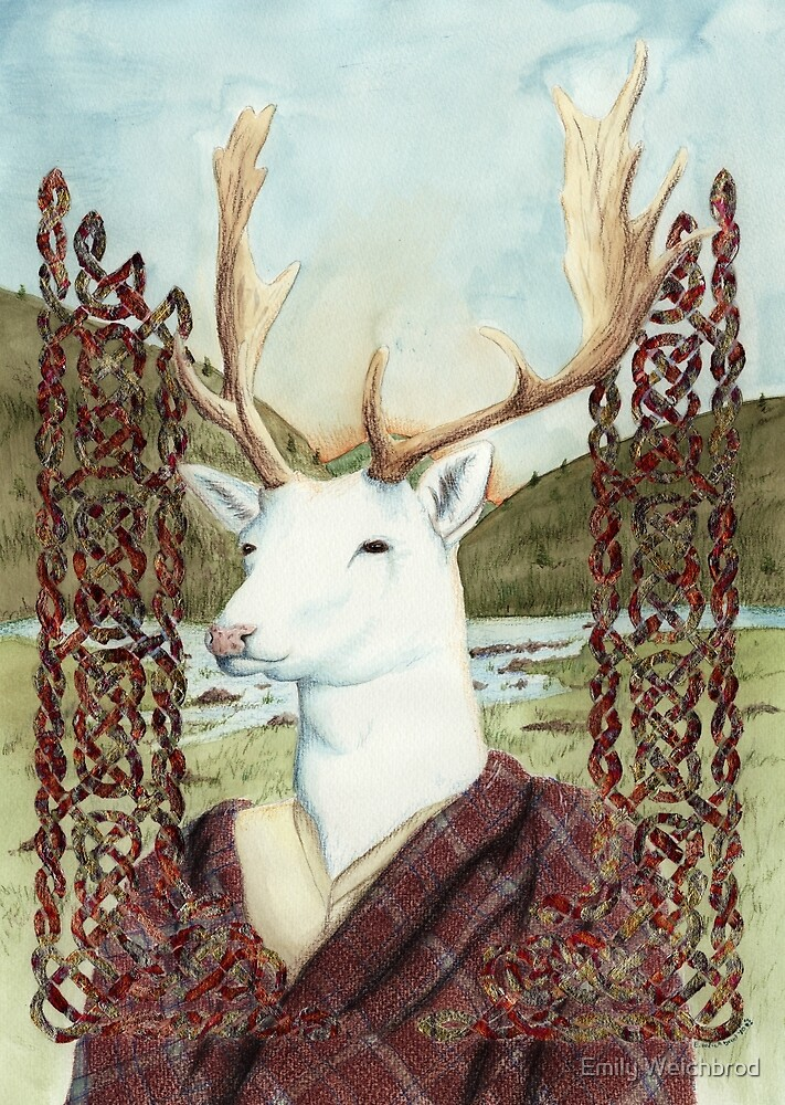 Dama MacGillavrey The White Stag by Emily Weichbrod
