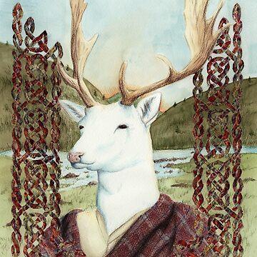 Dama MacGillavrey The White Stag by skieborne