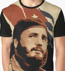 Fidel Castro Graphic T-Shirt