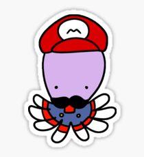 Super Mario Octopus Sticker