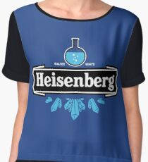 Heisenberg Blue Crystal Women's Chiffon Top