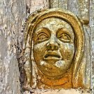 Middle Ages stone artwork. Seen at a church by Remo Kurka
