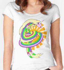 Lady Rainicorn  Women's Fitted Scoop T-Shirt
