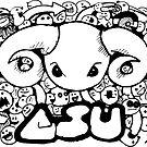 CSU Doodles by Cameron Kinchen