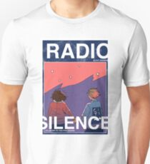 Camiseta ajustada Radio Silence: Cartel