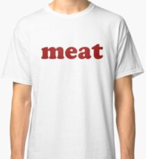 Red Leather meat Classic T-Shirt