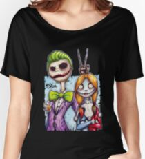 Nightmare In Gotham Women's Relaxed Fit T-Shirt