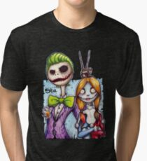 Nightmare In Gotham Tri-blend T-Shirt
