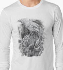 White Raven Long Sleeve T-Shirt