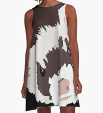 Ferret head A-Line Dress