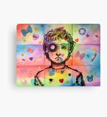 Little Boy Barf Canvas Print
