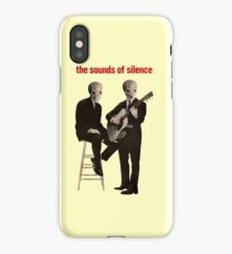 The sounds of silence iPhone Case