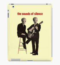 Die Geräusche der Stille iPad-Hülle & Klebefolie