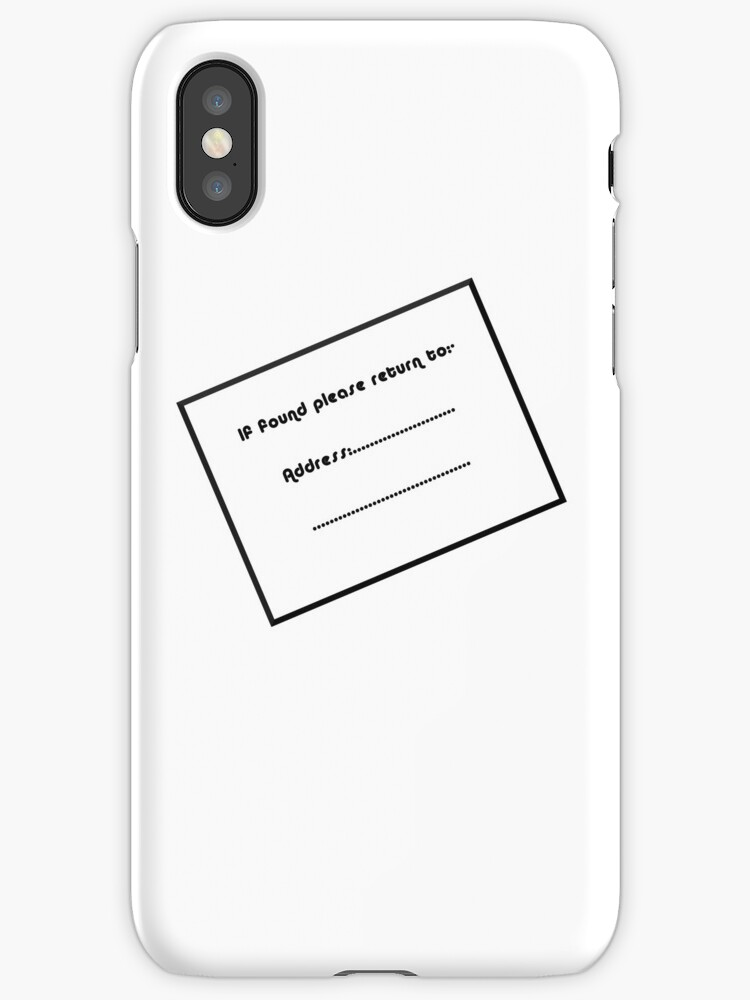 If found please return to label iphone cases covers by craig if found please return to label by craig stronner ccuart Gallery