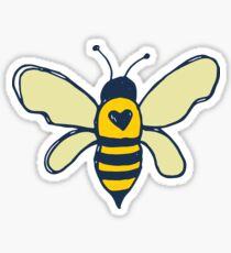 Bees and Flowers Sticker